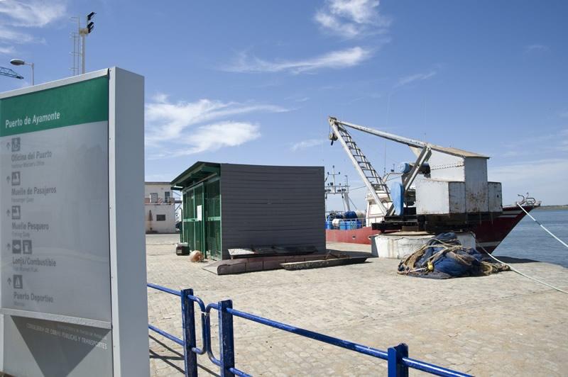 Puerto de Ayamonte comercial