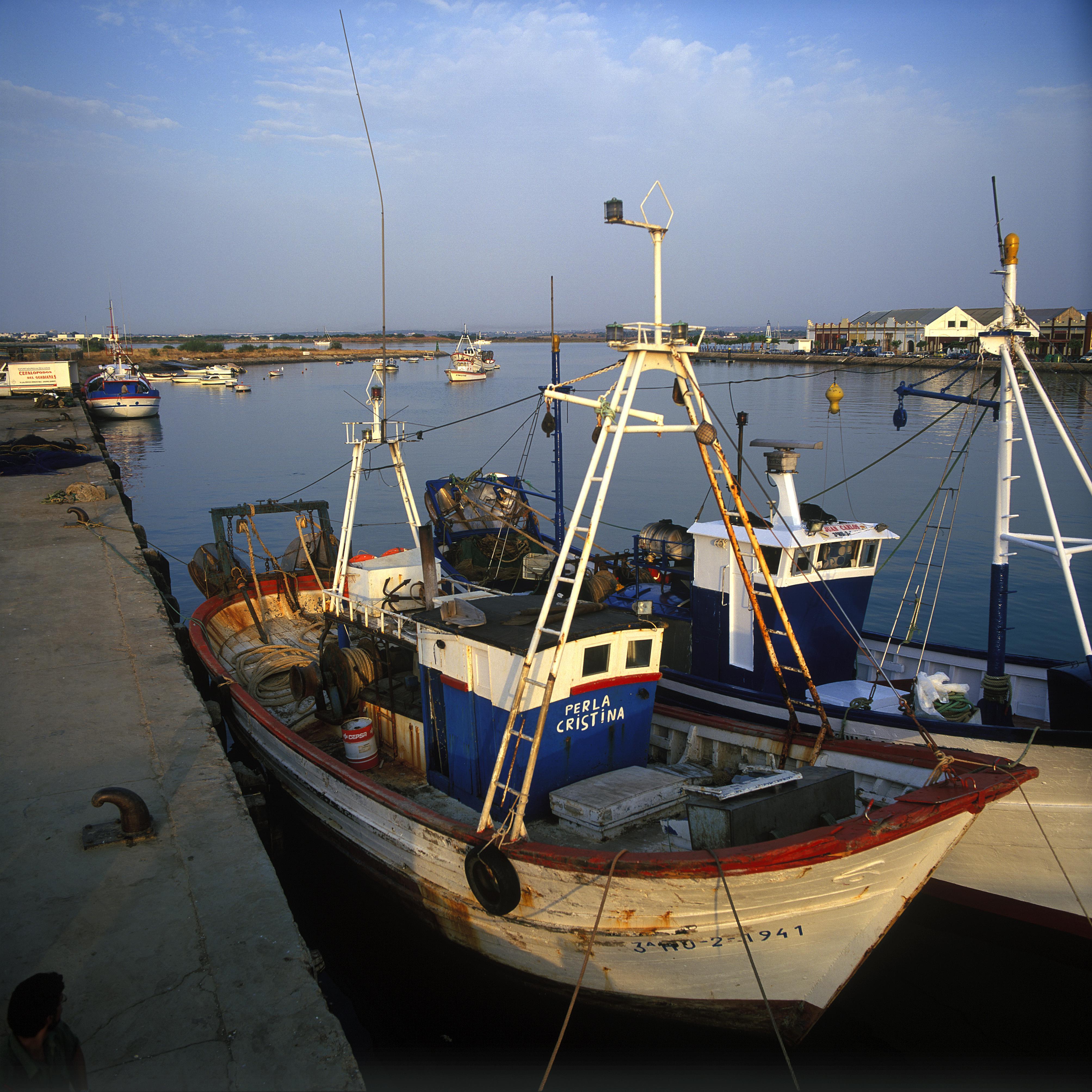 Puerto pesquero de Ayamonte