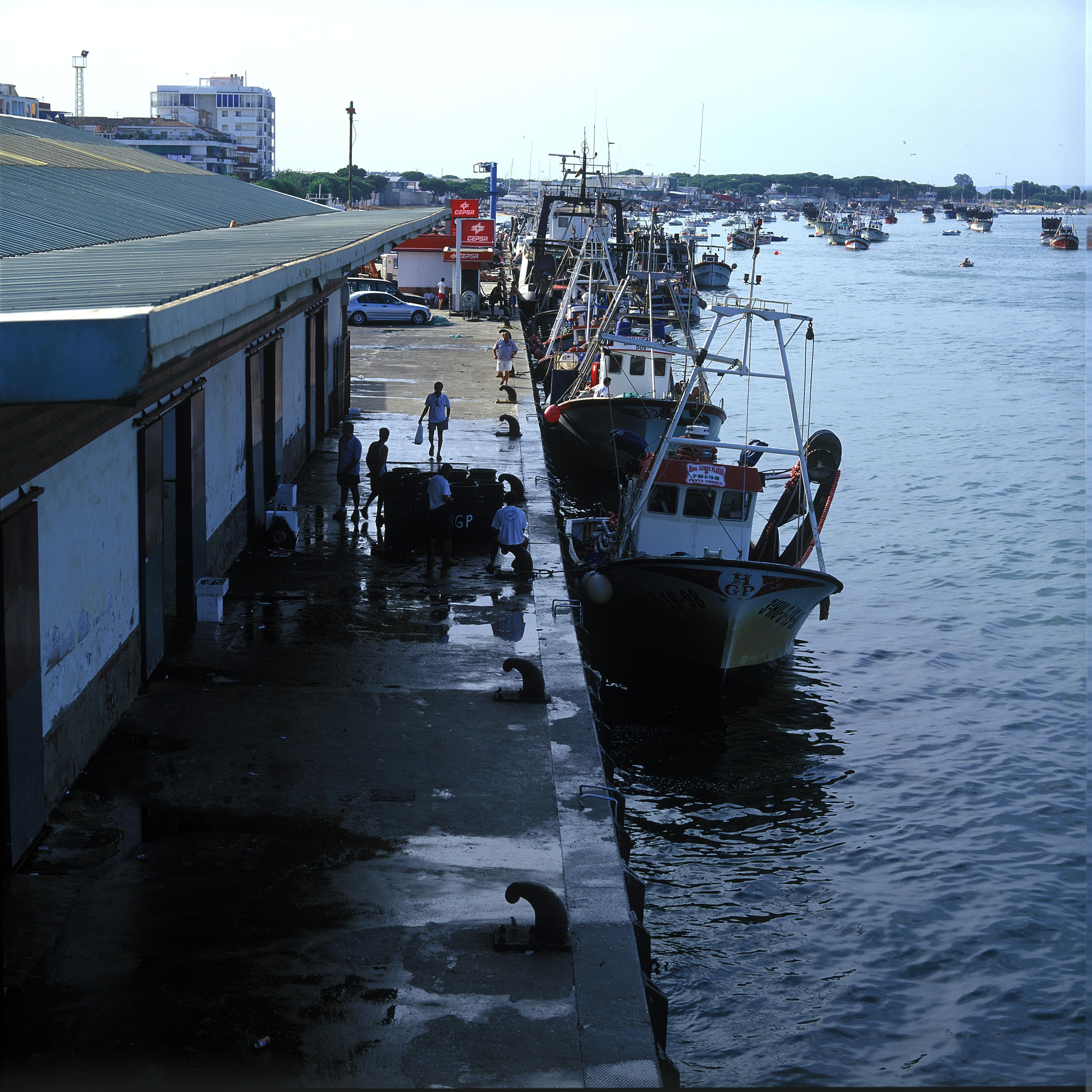 Puerto pesquero de Punta Umbría