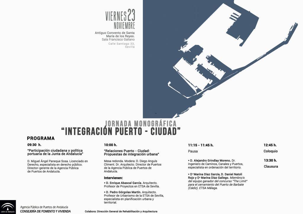 JORNADA MONOGRÁFICA DE INTEGRACIÓN PUERTO - CIUDAD