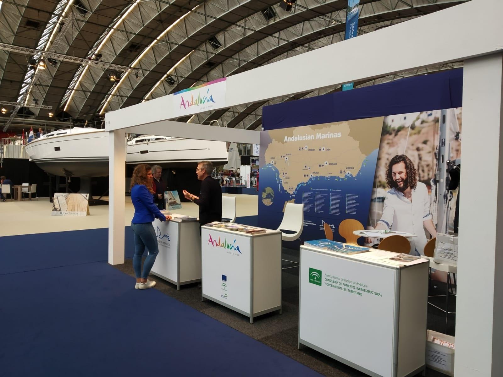 Andalucía promocionará su oferta de puertos deportivos en el Salón Náutico de Düsseldorf