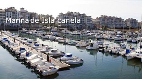 Puerto de Isla Canela