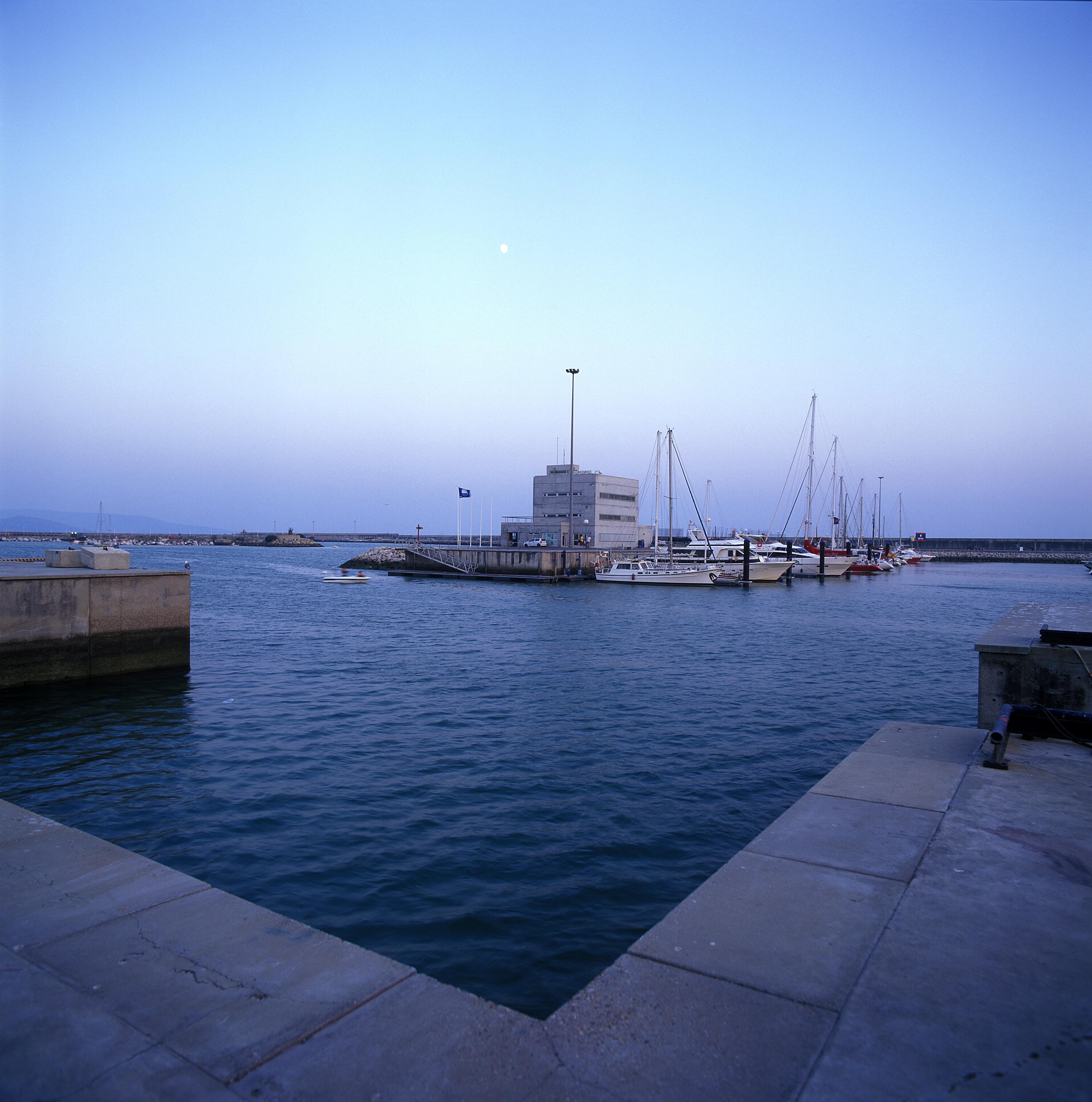 Puerto pesquero de Barbate