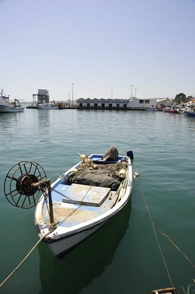 Puerto pesquero de Caleta de Vélez
