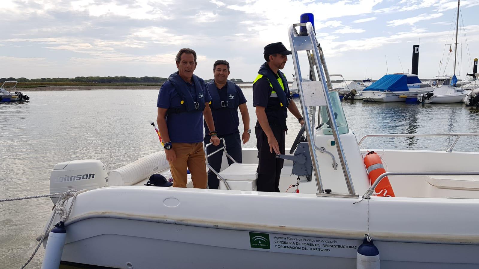 PUERTOS INCORPORA UN SERVICIO DE POLICÍA PARA VELAR POR LA SEGURIDAD EN LA RÍA DEL PIEDRAS