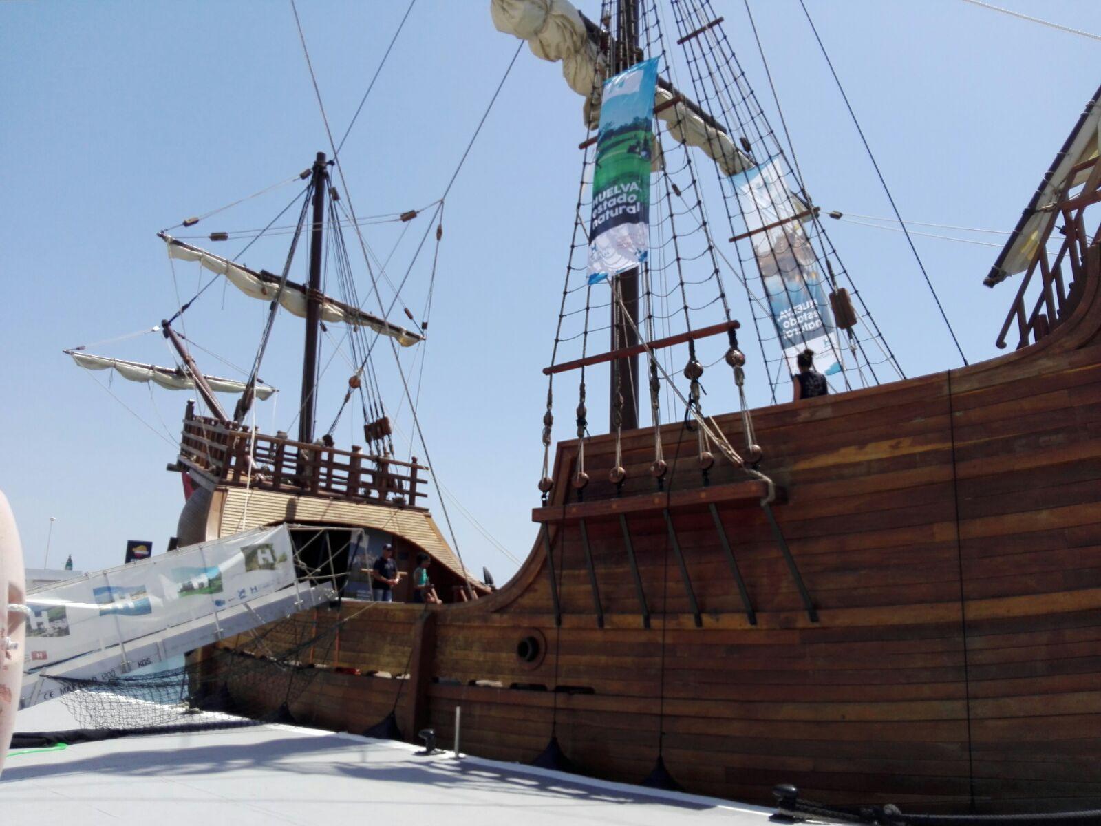Puerto de Fuengirola - Visita Nao Santa María