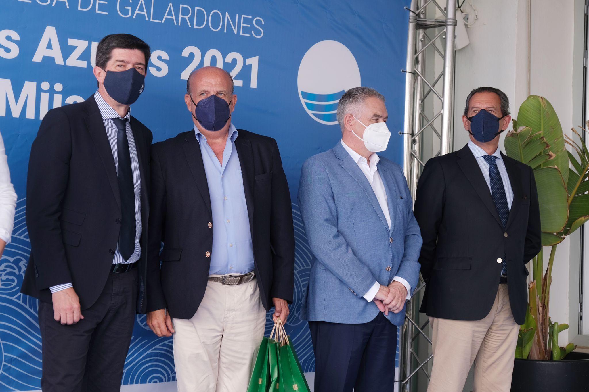 PUERTOS DE ANDALUCÍA RECOGE LAS DIEZ BANDERAS OTORGADAS A LOS PUERTOS DE GESTIÓN DIRECTA EN UN ACTO CELEBRADO EN MIJAS