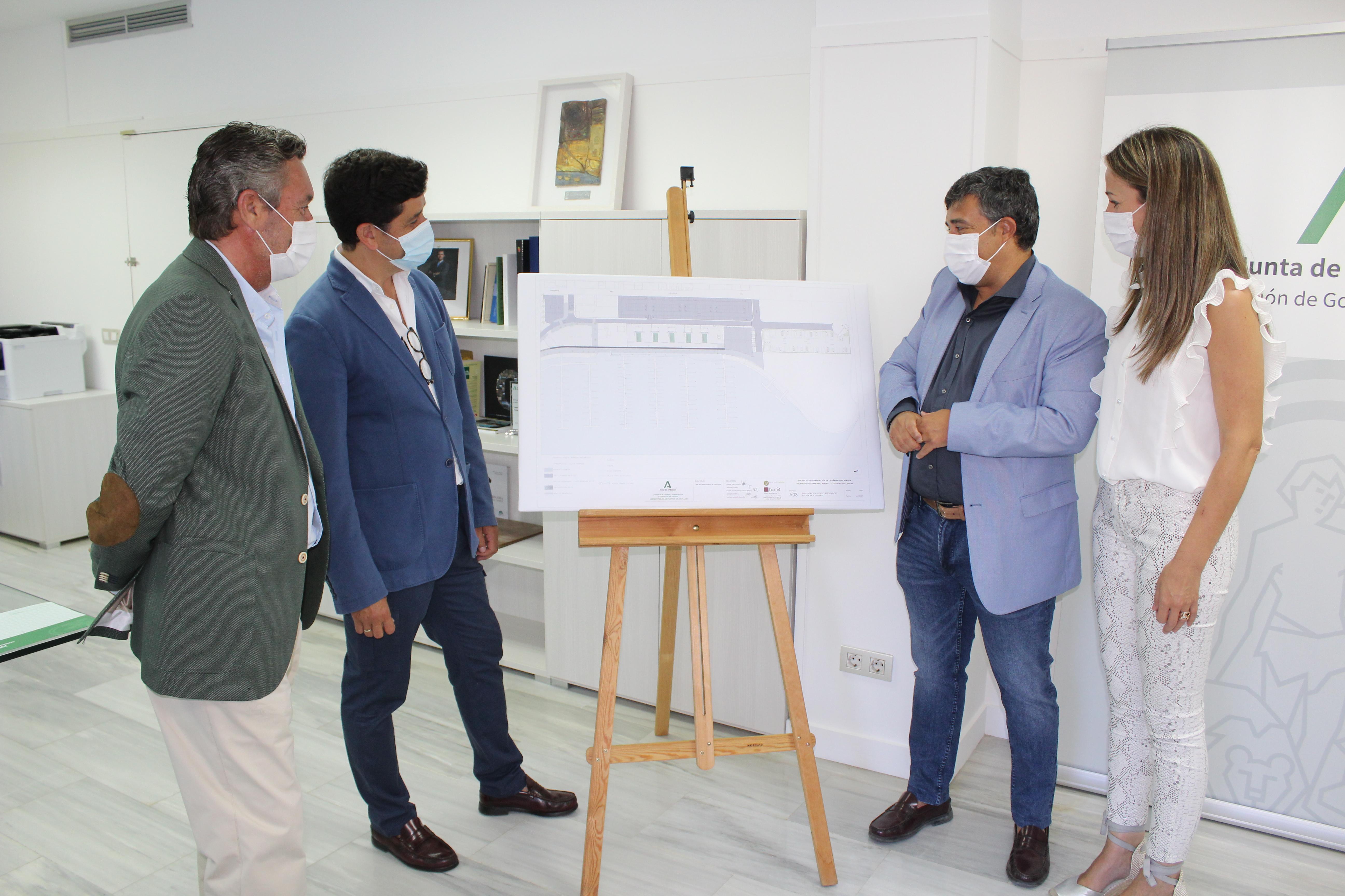 LA JUNTA INVIERTE 1,14 MILLONES DE EUROS EN LA DÁRSENA DEPORTIVA DEL PUERTO DE AYAMONTE